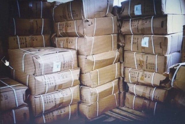 Medical supplies donated to Hospital Hilario Galindo.