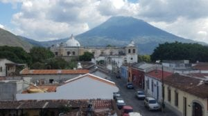 The town of San Felipe, Retalhuleu, is located in the southern Pacific Coast of Guatemala.